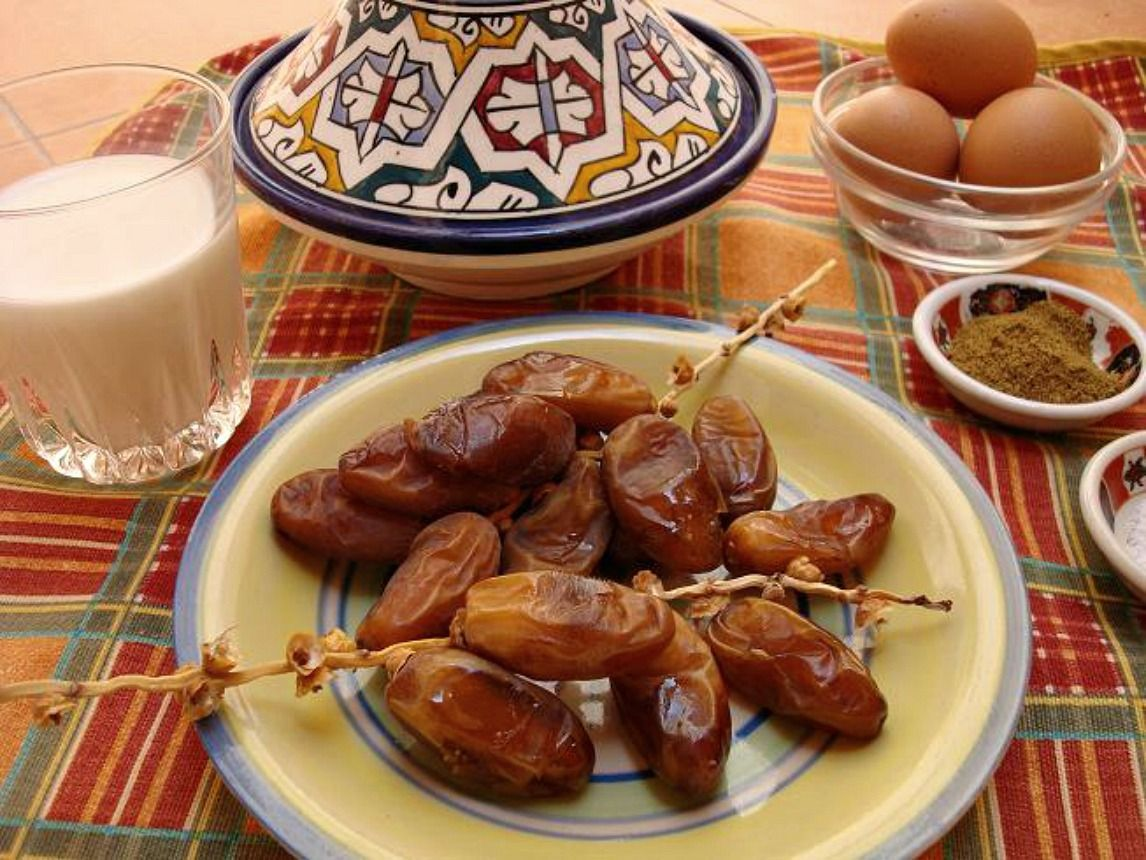 Moroccan Ramadan Ftour Table