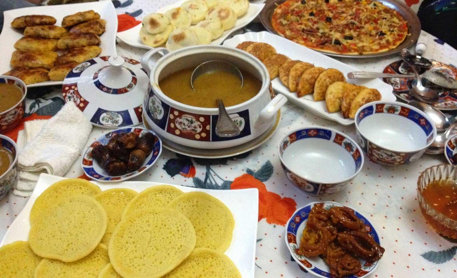 Moroccan Ramadan Ftour