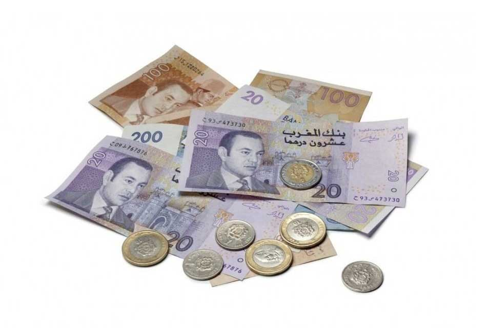 Moroccan currency dirhams