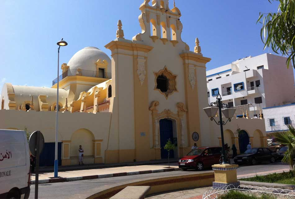 a Moroccan church