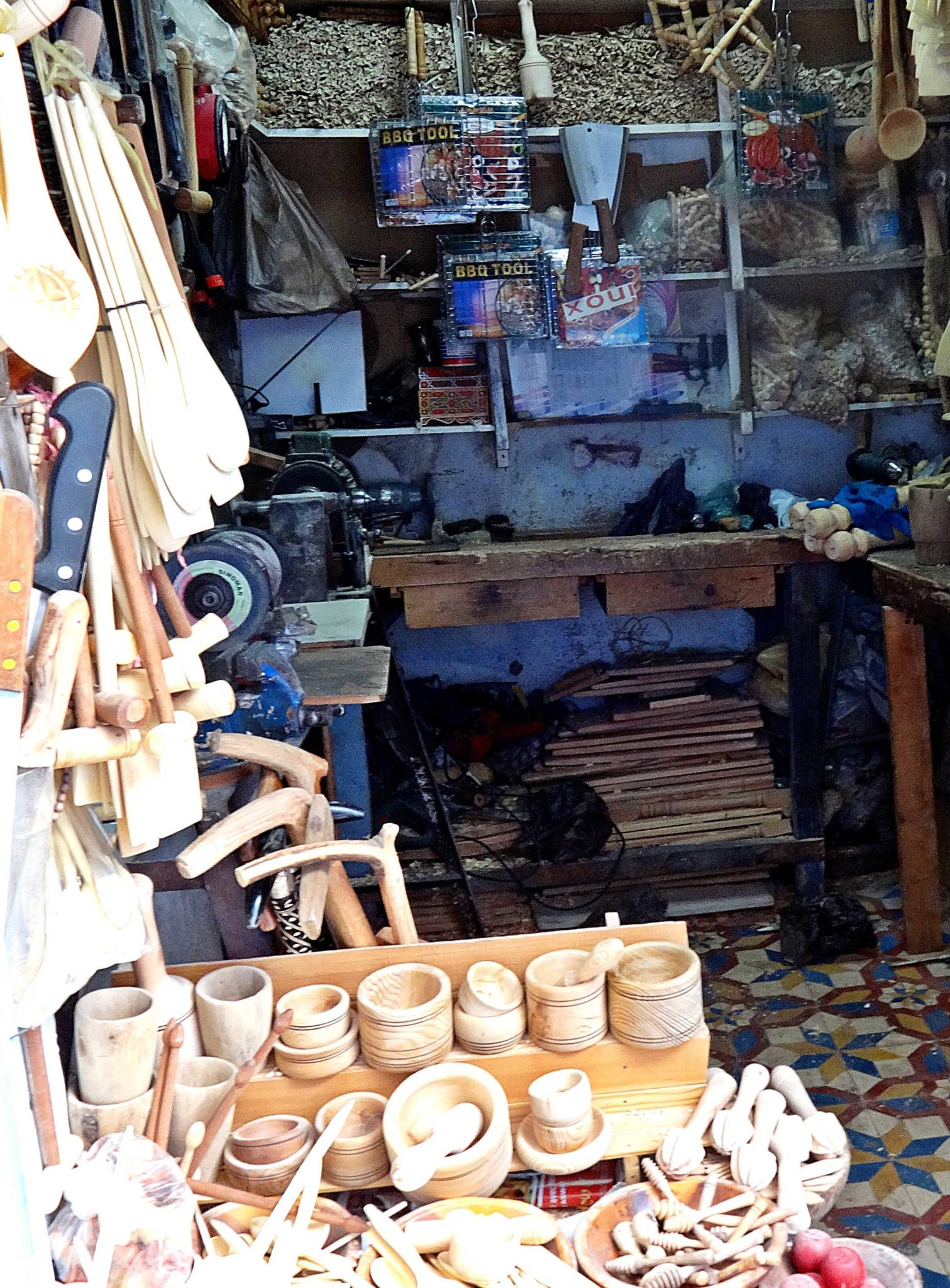 chefchaouen-wood-craft