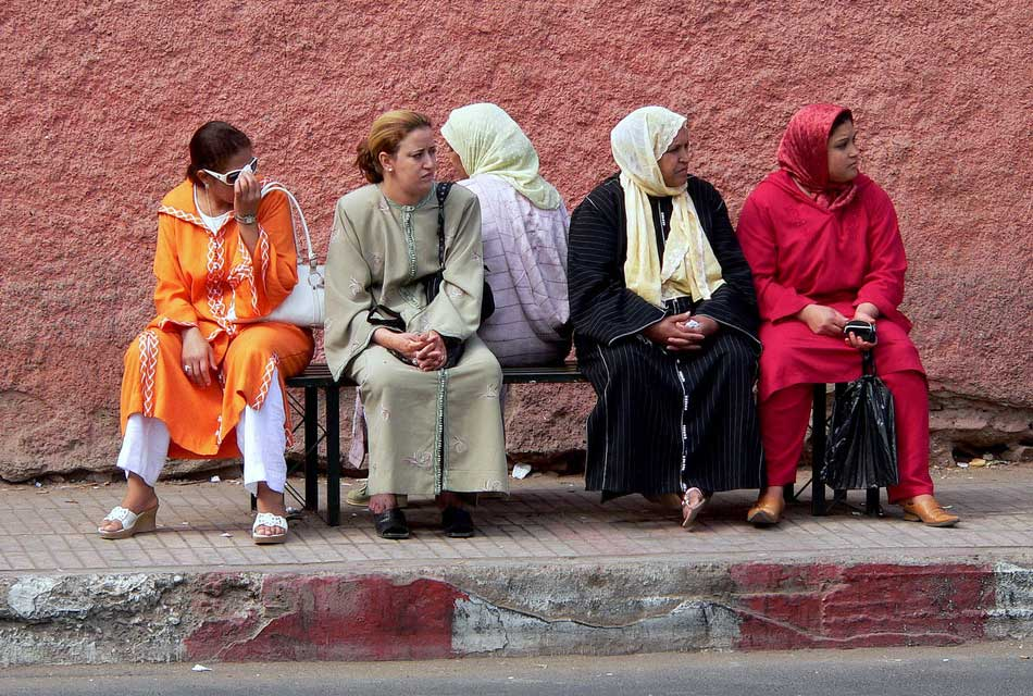 moroccan women clothing