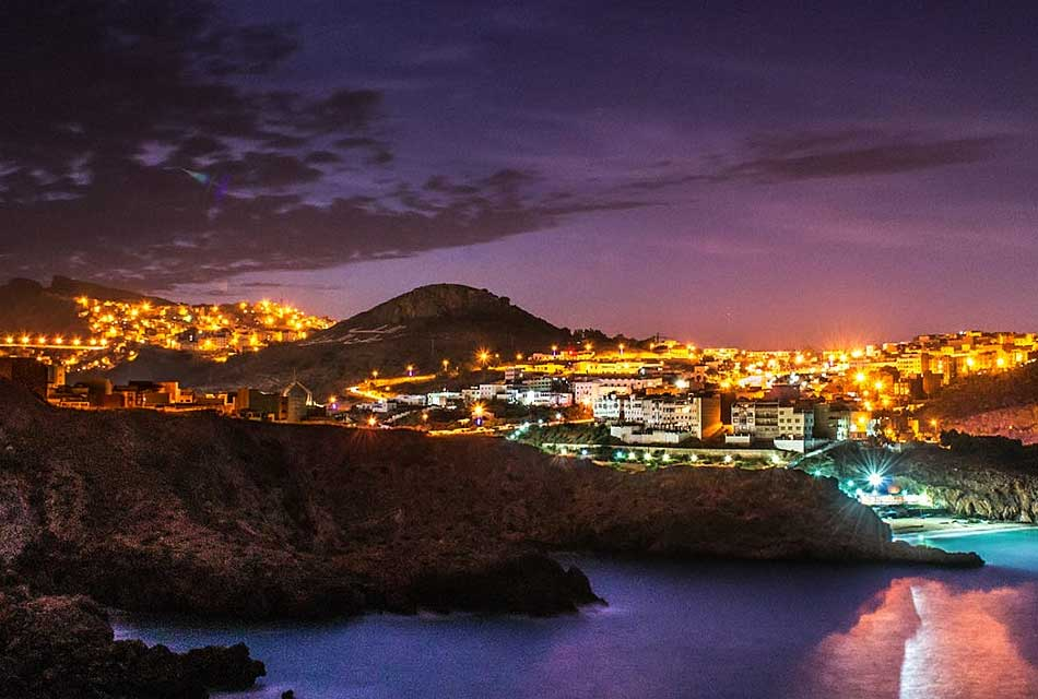 Al-Hoceima night