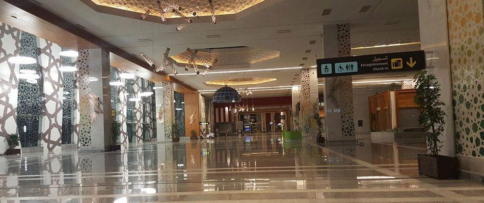 Fes Saes Airport interior