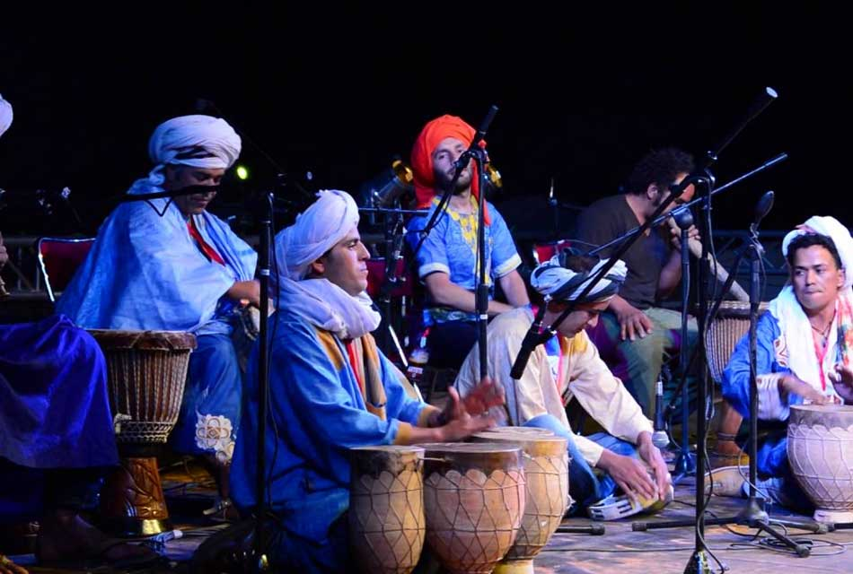 Drums Brothers. Festival International Merzouga 4éme edition.
