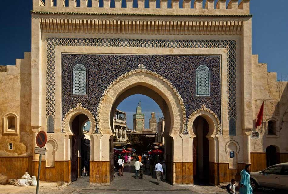 Bab Boujloud gate fes al bali