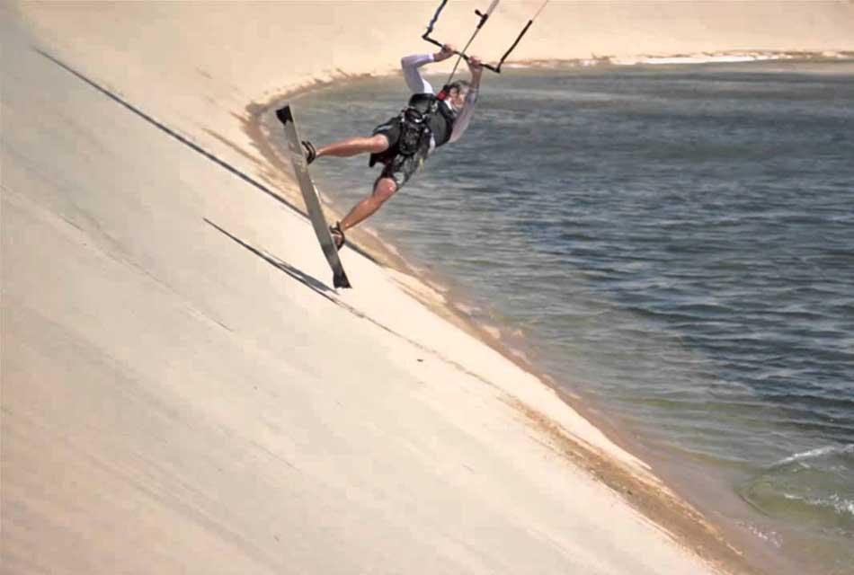 Dakhla kitesurfing