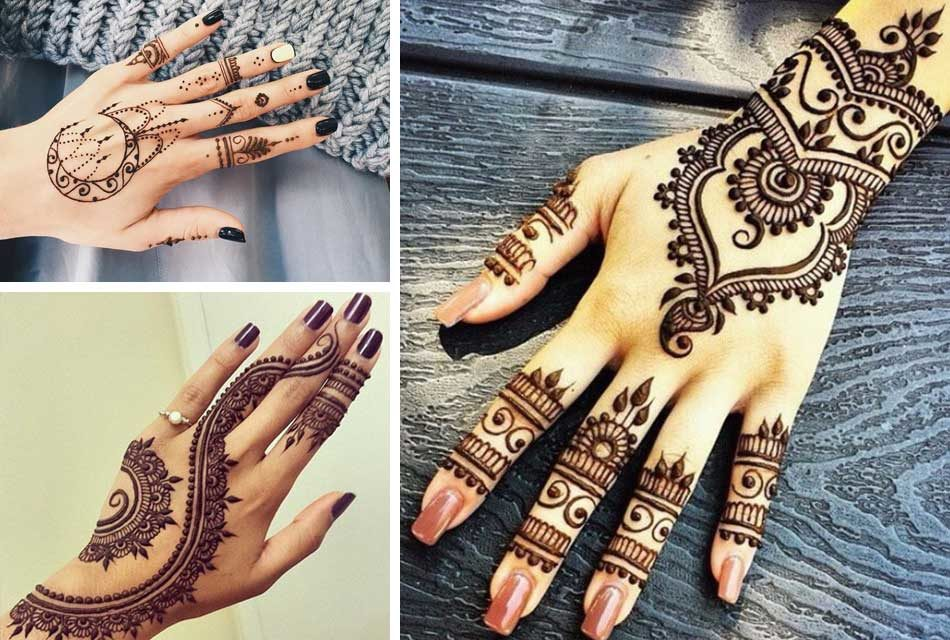378e5d484 Henna Tattoos: The art of Painting on the hand and body - Friendly ...