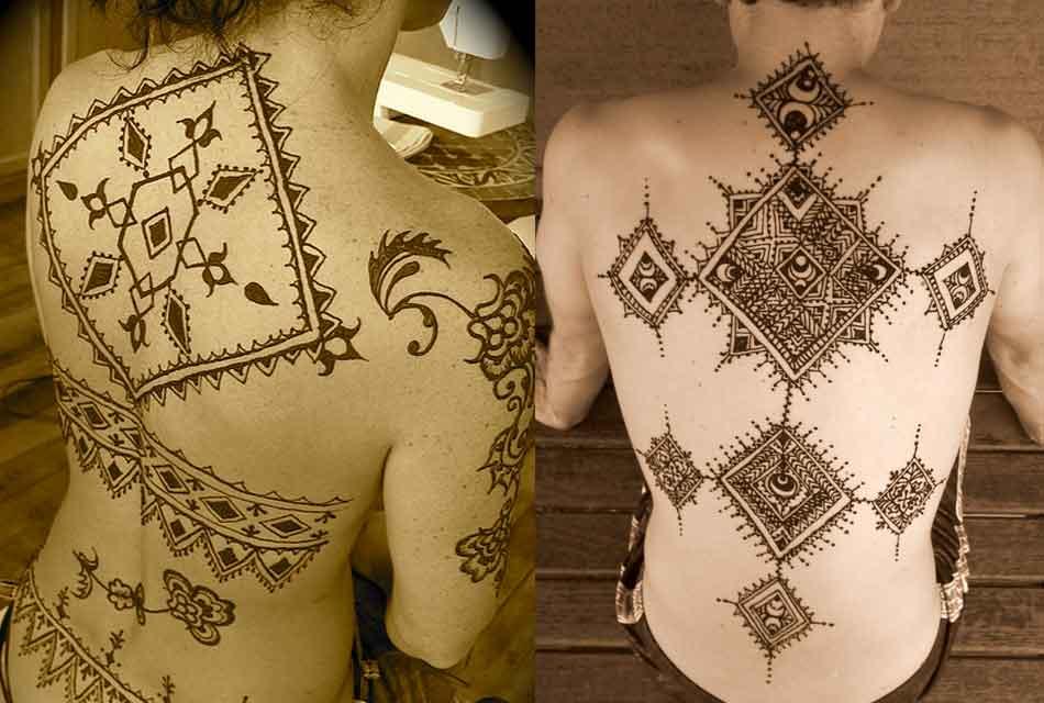 henna body