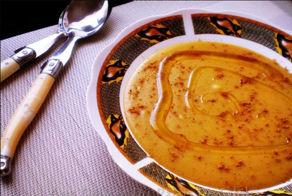 Bissara Moroccan soup