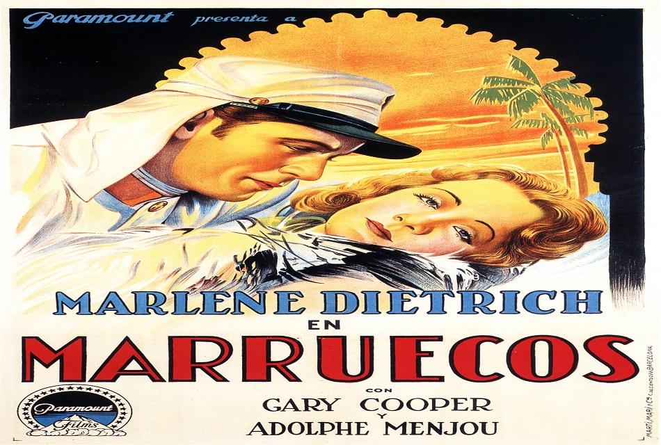 Film Morocco 1930