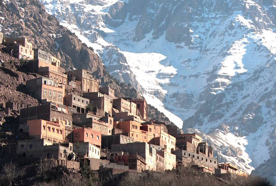 Imlil Village During Winter