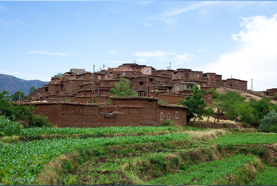 Ouirgane Berber Town
