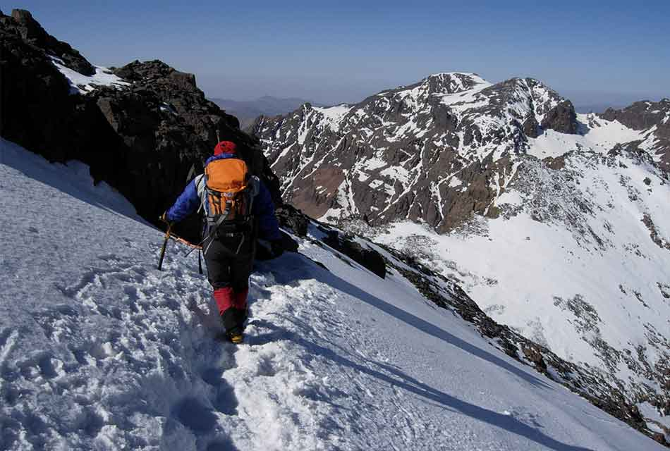 Hiking In Toubkal Mountain