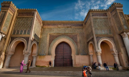 Meknes , Attractive places in the historical city of morocco