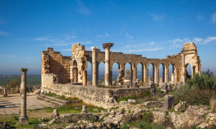 Volubilis , a small roman area