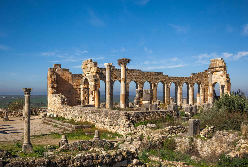 Volubilis , a small roman area