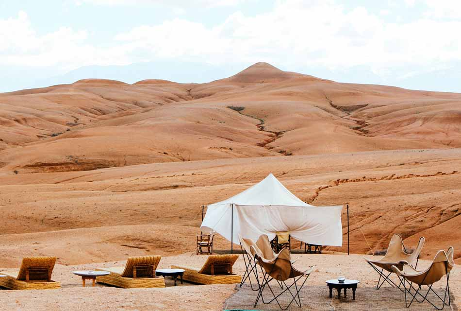Agafay desert Morocco trip in one day