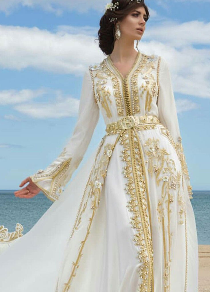 Moroccan clothes long robe