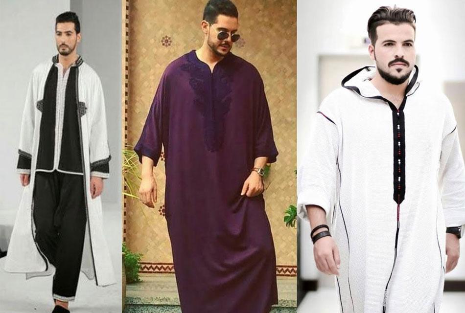 man-djellaba Moroccan tradition